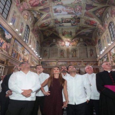 LA CAPILLA SIXTINA EN MÉRIDA: Abre sus puertas la exposición que reproduce uno de los mayores tesoros culturales de El Vaticano