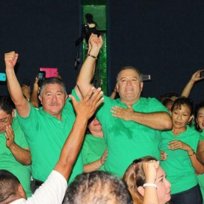 ELECCIÓN SINDICAL DE TAXISTAS: Erasmo Abelar, candidato de la planilla Verde, virtual nuevo dirigente del sindicato en Cancún