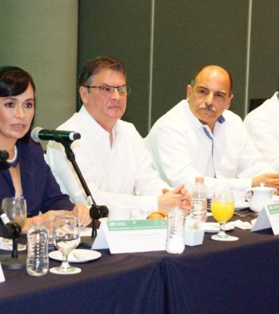 Propone Alcaldesa modernizar la red eléctrica de la Zona Hotelera de Puerto Morelos con cableado subterráneo