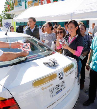 Ponen en marcha programa 'Conduce sin Alcohol' en Puerto Morelos