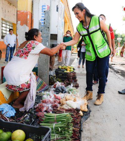 Gestionan apoyos para la creación de huertos medicinales en Puerto Aventuras