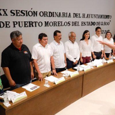 Laura Fernández toma protesta a Gumercindo Jiménez como secretario de Seguridad Pública y Tránsito tras aprobar exámenes de control y confianza