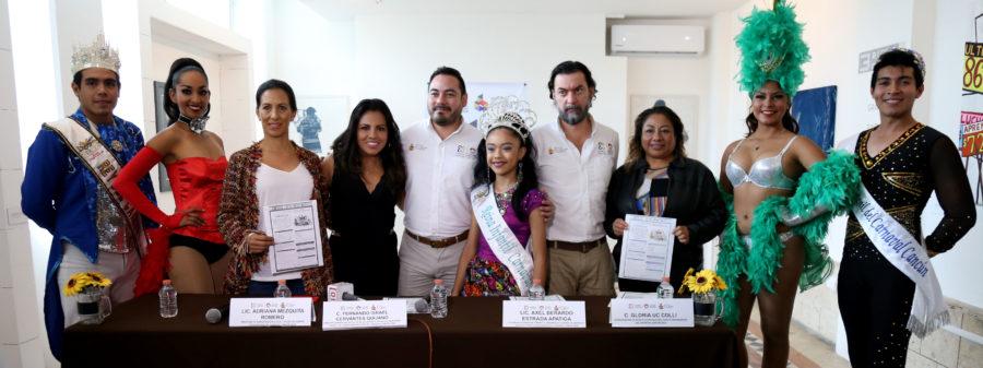 Lazan convocatoria para el Carnaval de Cancún