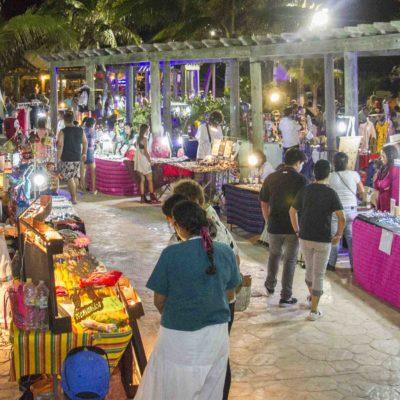 Realizan Tianguis de Artesanos y Productores de Puerto Morelos, Leona Vicario y Central Vallarta
