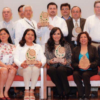 Recibe Laura Fernández premios nacionales por Equidad de Género y Protección al Medio Ambiente en la CDMX