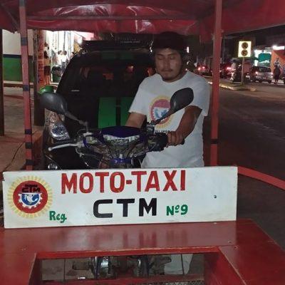 VIDEO | No la atendieron en Centro de Salud y mujer da a luz a bordo de un mototaxi en José María Morelos