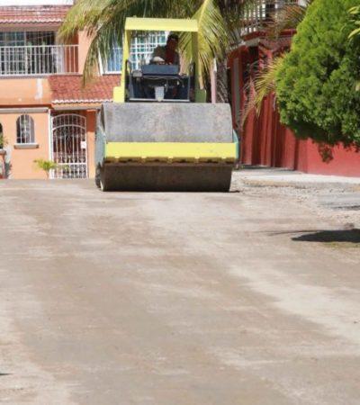 Continuarán en 2018 trabajos de pavimentación en Cancún