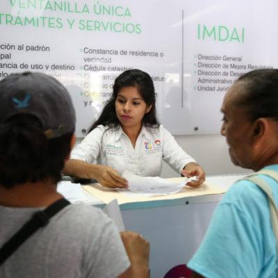 Realizan más de 14 mil 500 trámites en Ventanilla Única en Cancún