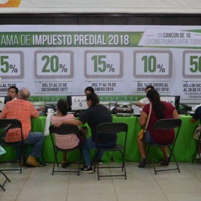 Destacan apoyo a ciudadanos con programas de descuentos en trámites en Cancún