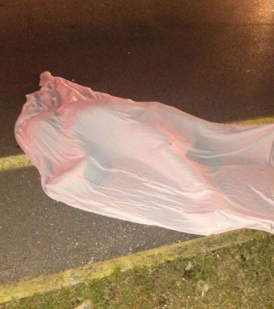Fallece turista arrollado en carretera a Puerto Aventuras