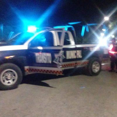 BALAZOS EN PLAYA TRAS ASALTO A BODEGA AURRERÁ: Realizan policías persecución y aseguran vehículo; versión de asaltante detenido