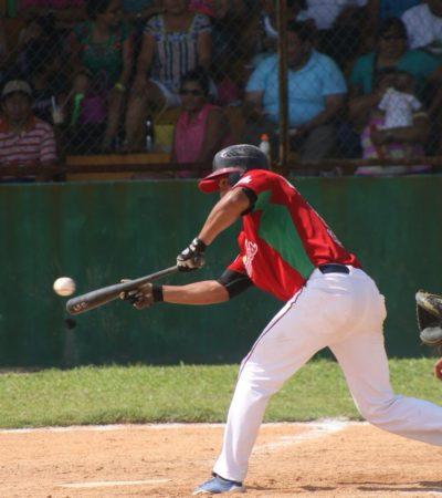 Listas las semifinales de la Liga Estatal de Beisbol de Quintana Roo