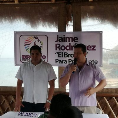 Inicia recolección de firmas a favor de 'El Bronco' en Cozumel