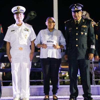 CONCLUYE EXPOSICIÓN MILITAR: Reportan más de 570 mil visitantes a 'vitrina' de las Fuerzas Armadas en Playa del Carmen