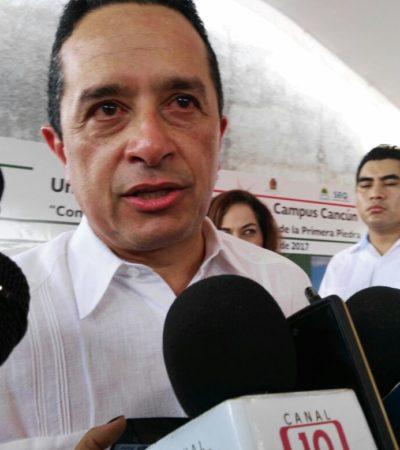 Rechazo de incremento al ISH no pone en riesgo Cuartel Militar y C-5, asegura Carlos Joaquín; enfatiza que no hay ruptura con el sector hotelero