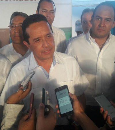 """""""LO QUE SUCEDIÓ NO PUEDE DARSE DE NUEVO"""": Trabaja Gobierno de QR en recuperar el CREA, dice Carlos Joaquín"""