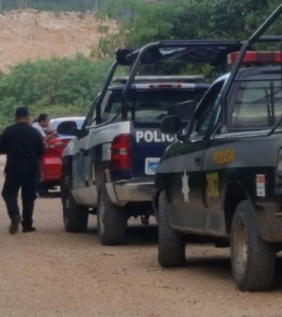 Hallan vehículo y arma usadas para ejecución en Carrillo Puerto