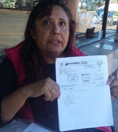 Denuncia mujer a directora de Catastro por obstrucción de trámites en Solidaridad