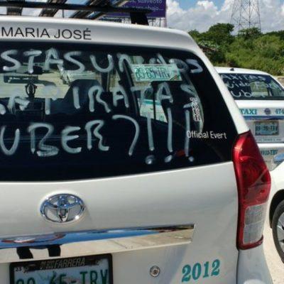 CACERÍA CONTRA UBER'S EN CANCÚN: Revelan audios que exhiben coordinación de taxistas para perseguir y detener a choferes de la plataforma digital