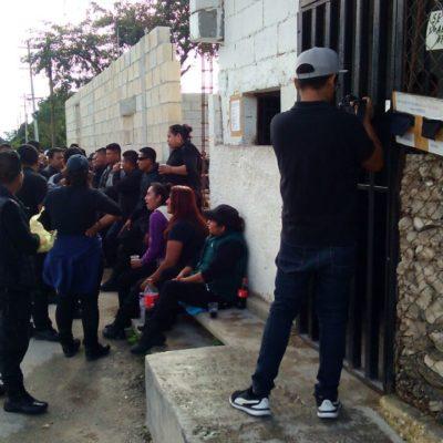 """""""ESTÁN VIOLANDO LA NORMATIVIDAD"""": Custodios no son policías, advierte Cristina Torres"""