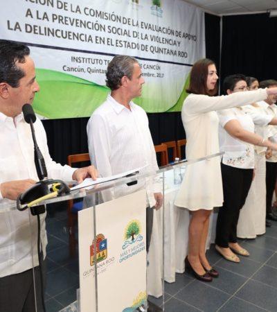 Suman a ciudadanos a proyecto de prevención de la violencia en Quintana Roo