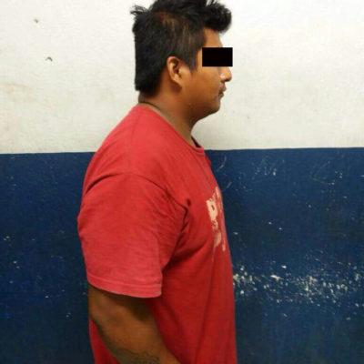 Detienen a sujeto con droga en Puerto Aventuras