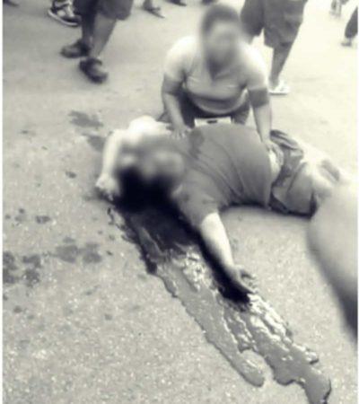 SUPERA CANCÚN LAS 200 EJECUCIONES: Matan a balazos a hombre en la Kabah y muere en el hospital hombre baleado ayer
