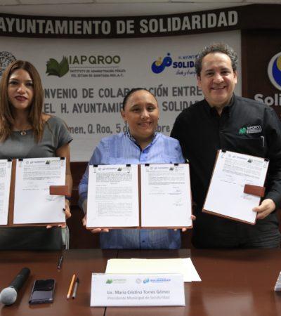 FIRMAN CONVENIO DE CAPACITACIÓN: Brindará Solidaridad mejores servicios con profesionalización de funcionarios