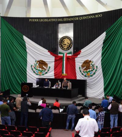 Clausuran los trabajos legislativos del primer periodo de sesiones del 2do año