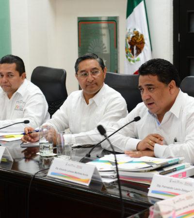 REVISAN DIPUTADOS PAQUETE FISCAL 2018: Se reúnen con titular de Sefiplan para despejar dudas de proyecciones presupuestarias en QR