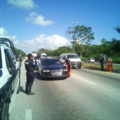 BOTÍN NAVIDEÑO EN CANCÚN: Casi en las narices de la policía, asaltan camión de valores cerca del Aeropuerto de Cancún y se llevan 250 mil dólares