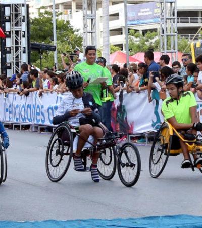 Promueven deporte adaptado en Cancún