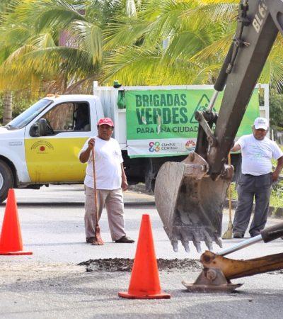 Precisa comuna que van en tiempo y forma obras por 413 mdp en Cancún