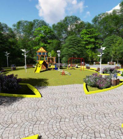 Portomorelenses destacan beneficios del parque en construcción en Villas la Playa