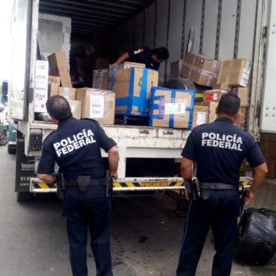Hallan marihuana en caja de paquetería en empresa Fedex en Chetumal
