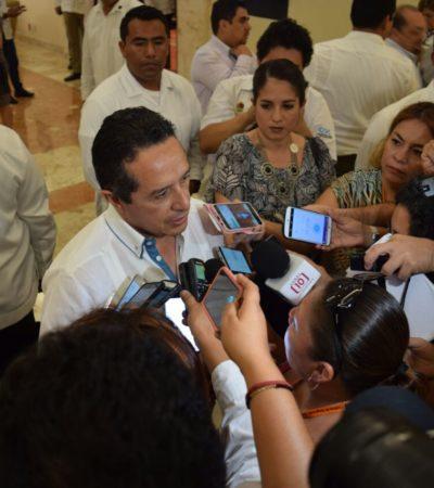 El Frente estará presente en QR, asegura Carlos Joaquín