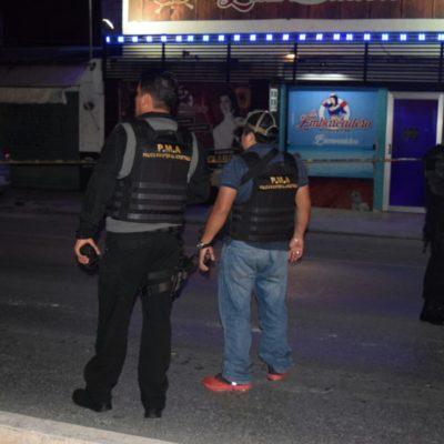 Detienen a empistolados en 'El Embarcadero'; sospechan querían cobrar derecho de piso