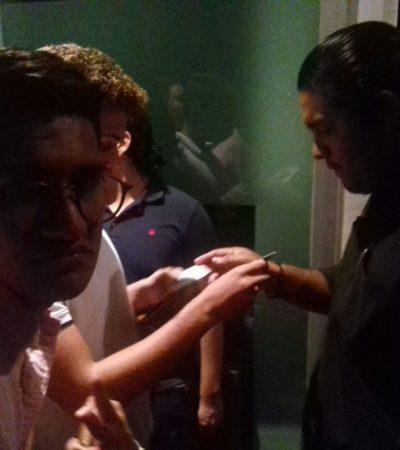 OPERATIVO EN ANTROS EN CANCÚN: Impiden acceso a unos 1,200 menores a discotecas y bares