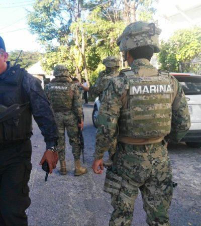 DESATA PÁNICO BALACERA EN CANCÚN: Pistoleros realizan ataque en la SM 44 y dejan 5 heridos regados sobre la calle en un intento de robo de nómina de una empresa