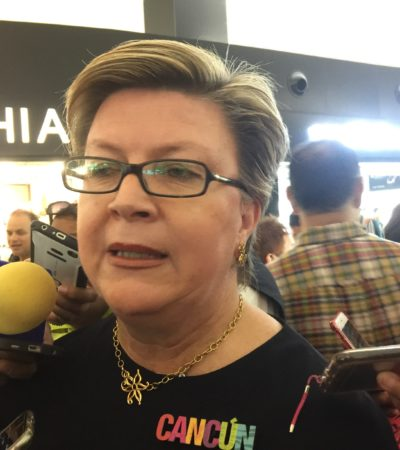 Trabaja Cancún para superar 'warning', asegura Jane García