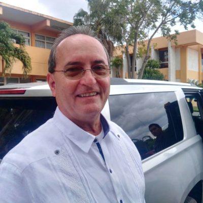 """""""PARA NADA SU PADRE HA MOVIDO ALGO PARA AYUDARLE"""": López Mena no interviene en aspiraciones de su hijo, dice"""