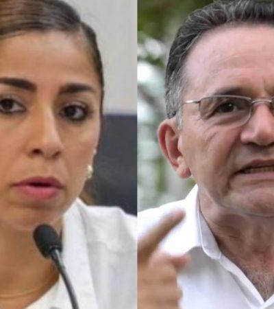 BOLA CANTADA EN MORENA… A PESAR DE TODO: Marybel Villegas y José Luis Pech se registran como candidatos oficiales al Senado por QR