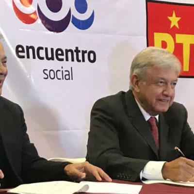 REPARTE MORENA CANDIDATURAS A DIPUTACIONES FEDERALES: PT y PES se quedan con dos de las cuatro posiciones en juego en Quintana Roo