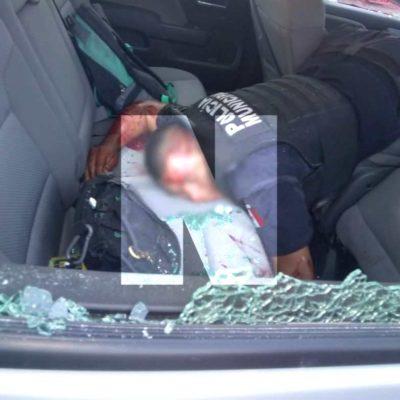 Policías atacados pagan por sus errores, dice regidor priista en Cancún