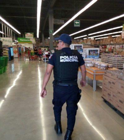 Mantiene policías en Solidaridad campaña de prevención del delito durante temporada vacacional