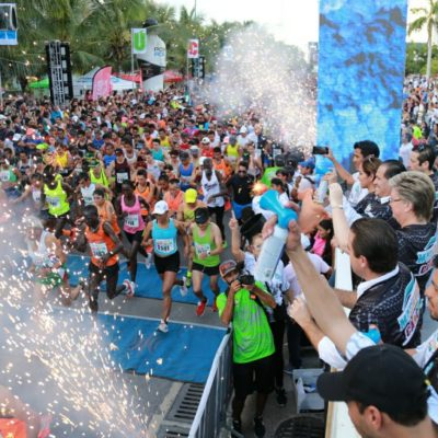 El éxito del Maratón Nocturno de Cancún obliga a seguir apoyando el talento local, dice Alcalde