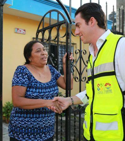 Atienden necesidades ciudadanas de supermanzanas 75, 102 y 238 en Cancún