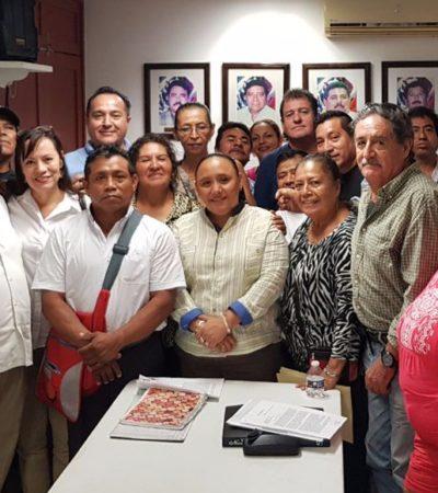 Se reúne Alcaldesa con productores del campo de Solidaridad