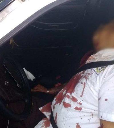 TERCER EJECUTADO DEL DÍA EN EL INICIO DE DICIEMBRE: Asesinan a taxista de Puerto Morelos en la Región 248 de Cancún
