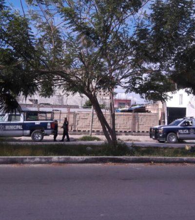 Fallece policía separando una pelea de perros en Cancún
